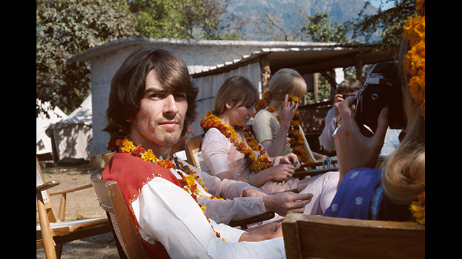George Harrison © Paul Saltzman 2